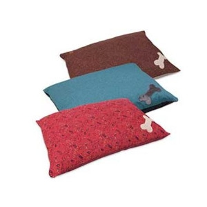 The MuttNation Bone Applique Pillow Bed