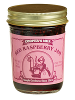 Cooper's Mill Red Raspberry Jam, 9 ounce jar