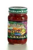 Frog Ranch All-Natural Mild Salsa, 16 ounce jar