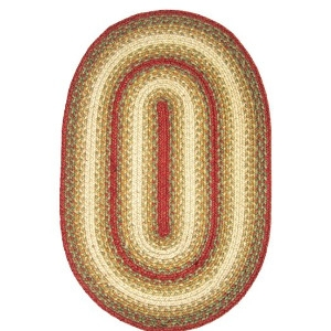 Homespice Jute Braid Oval Rugs 30 x 20