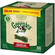Greenies Regular Value Pack, 36 ounce box