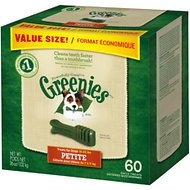 Greenies Petite Value Pack, 36 ounce box
