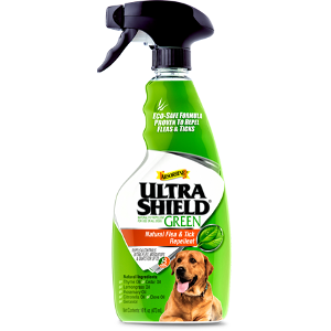Ultra Shield Green Natural Fly Repellent, 16 ounce spray