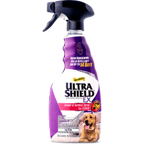 Ultra Shield EX Carpet & Surface Spray, 16 ounce spray