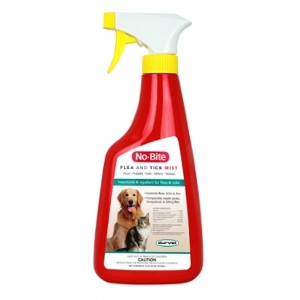No-Bite Flea and Tick Control Mist, 32 ounce spray