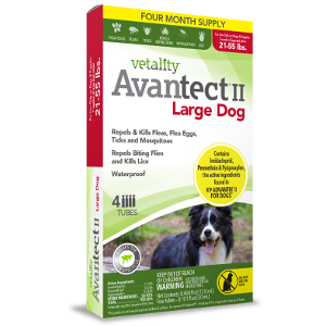 Vetality Avantect II Large Dog, 4 month supply