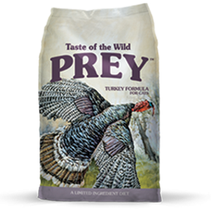 Taste of the Wild Prey Turkey Formula Cat Food, 6 and 15 lb. bags