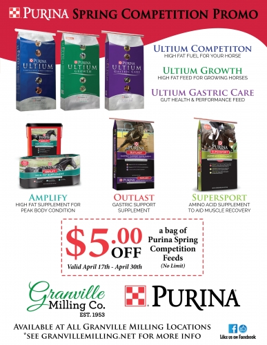Purina Spring Competition Promo