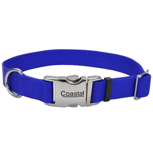 Adjustable Dog Collar with Metal Buckle