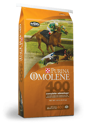 Purina Omolene 400 Complete Advantage Horse Feed