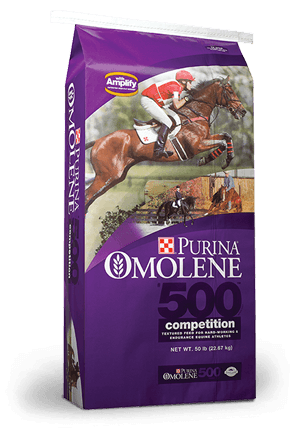 Purina Omolene 500 Competition Horse Feed