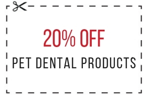 20% Off Pet Dental Products