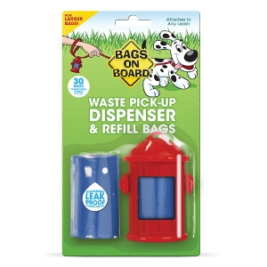 Fire Hydrant Dispenser & Pick-Up Bags