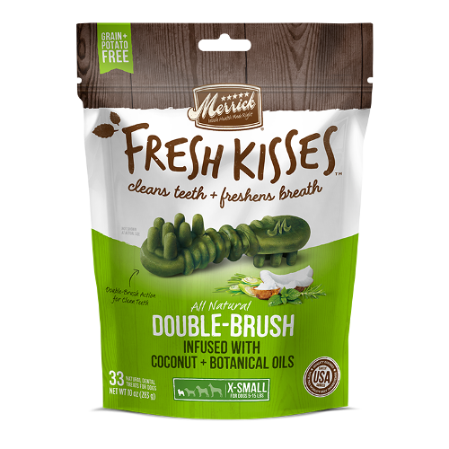 Merrick Fresh Kisses Dental Treats With Coconut and Botanical Oils