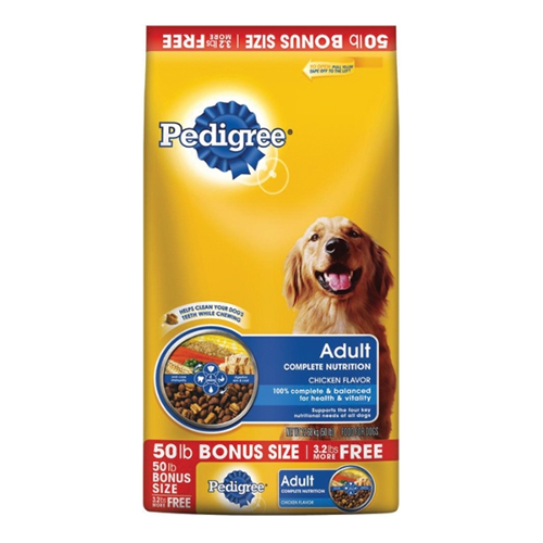 Pedigree Adult Complete Nutrition Chicken Flavor Dry Dog Food