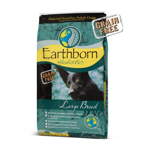 Save $4 on Earthborn Holistic Dog Food 14 lb.