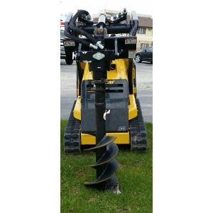 Post Hole Digger Attachment x900-To be rented with Mini Skidsteer