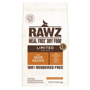 RAWZ Meal Free Limited Duck Recipe Dog Food