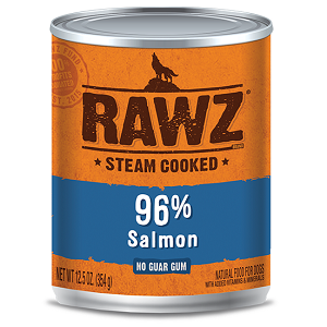 RAWZ Steam Cooked 96% Salmon Dog Food