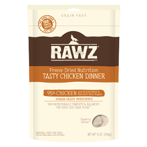 RAWZ Freeze Dried Chicken Recipe Dog Food