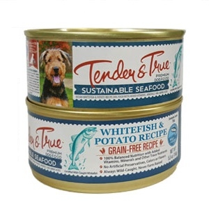 Tender & True Ocean Whitefish and Potato Recipe Canned Dog Food