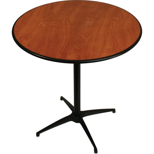 36″ Round Pedestal Table (42″ tall)