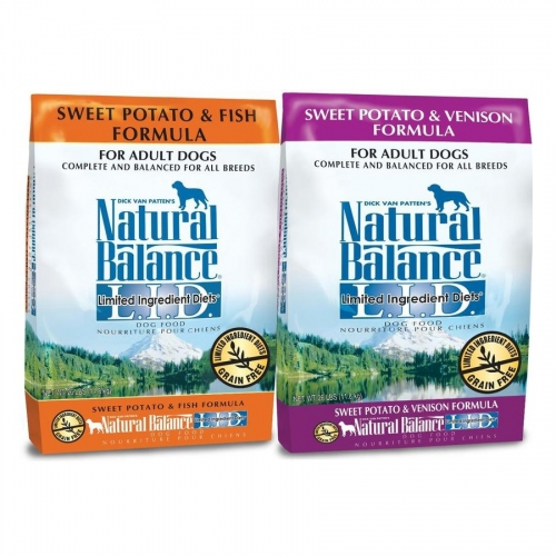 $5 off 26 lb bags Natural Balance L.I.D. Dog Food