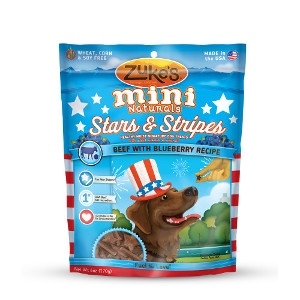 Zuke's Mini Naturals Stars & Stripes Dog Treats