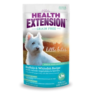 Health Extension Grain Free Buffalo & Whitefish Little Bites Recipe