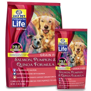 Lucy Pet Formula For Life Salmon, Pumpkin, & Quinoa