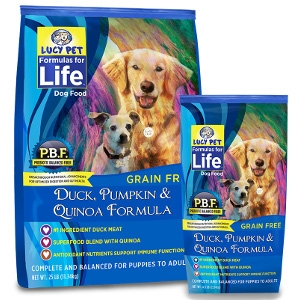 Lucy Pet Formulas For Life Duck, Pumpkin, & Quinoa