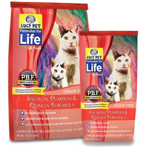 Lucy Pet Formulas for Life Salmon, Pumpkin, & Quinoa Cat