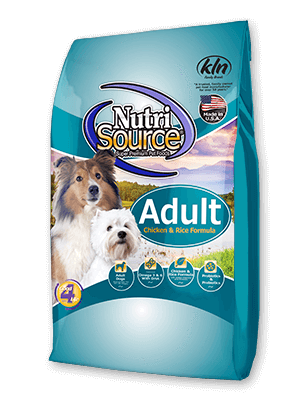 NutriSource Adult Chicken & Rice, Dry Dog Food