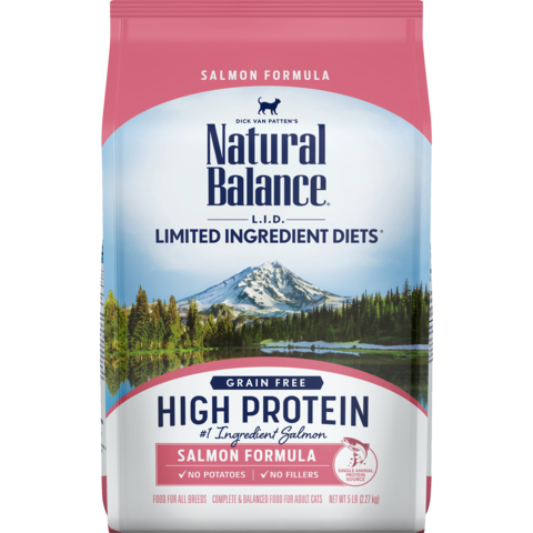 L.I.D. High Protein Salmon Formula Dry Cat Food