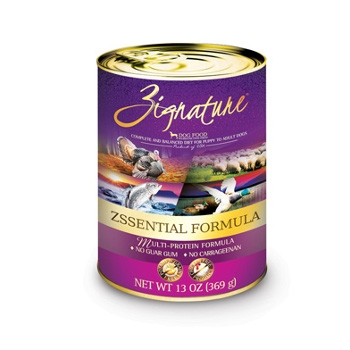 Zignature Zssential Formula Canned Dog Food