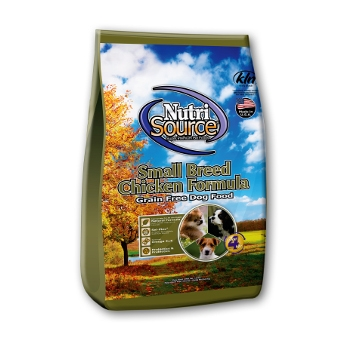 NutriSource® Small Breed Grain Free Chicken Formula Dry Dog Food