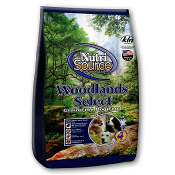 NutriSource® Woodlands Select Grain Free Dry Dog Food