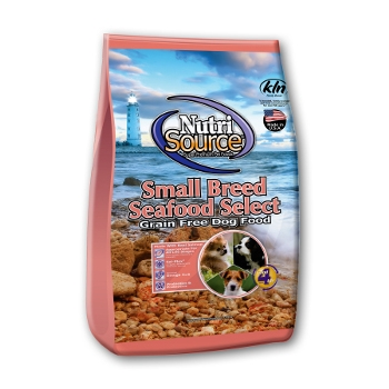 NutriSource® Small Breed Grain Free Seafood Select Dry Dog Food