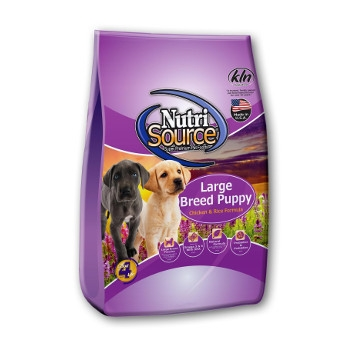 NutriSource® Large Breed Puppy Chicken and Rice Dry Food