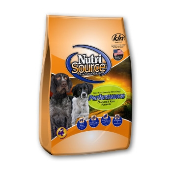 NutriSource® Performance Chicken & Rice Dry Dog Food