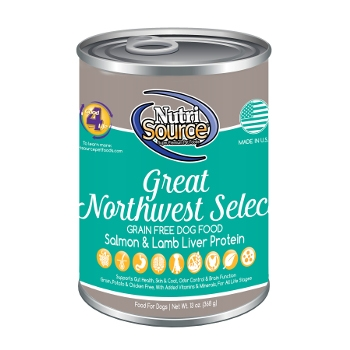 NutriSource® Grain Free Great Northwest Select Canned Dog Food