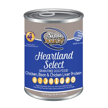 NutriSource® Grain Free Heartland Select Canned Dog Food