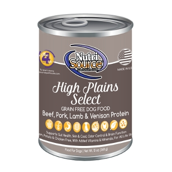 NutriSource® High Plains Select Grain Free Canned Dog Food