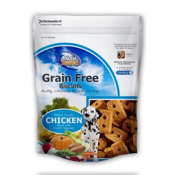 NutriSource® Grain Free Chicken Dog Biscuits