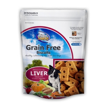 NutriSource® Grain Free Liver Dog Biscuits