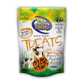 NutriSource® Soft & Tender Lamb Dog Treats