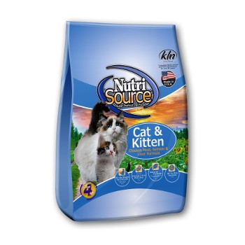 NutriSource® Chicken Meal, Salmon & Liver Dry Cat & Kitten Food