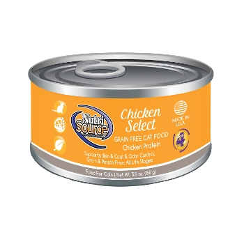 NutriSource® Chicken Select Grain Free Canned Cat Food