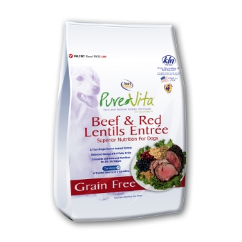 PureVita™ Beef & Red Lentils Grain Free Dry Dog Food