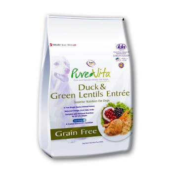 PureVita™ Duck & Green Lentils Grain Free Dry Dog Food